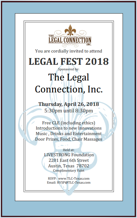 events the legal connection inc